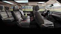 2013 Ford Flex, interior full view, interior, manufacturer