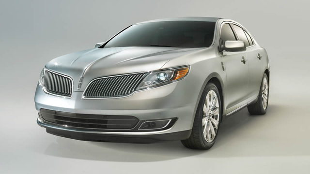 2013 Lincoln MKS, exterior front left quarter view, exterior, manufacturer