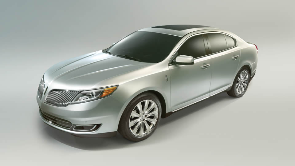 2013 Lincoln MKS, exterior side view, manufacturer, exterior