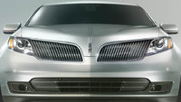 2013 Lincoln MKS, exterior front full view, exterior, manufacturer