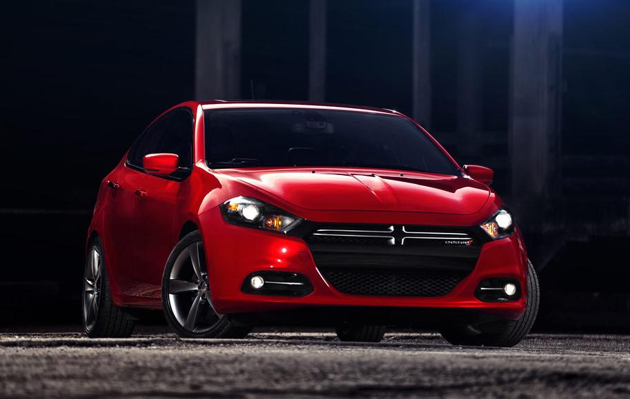 2013 Dodge Dart, Front-quarter view. Copyright Chrysler Group., exterior, manufacturer