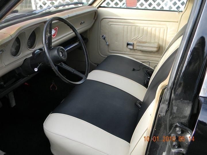 1972 ford maverick interior