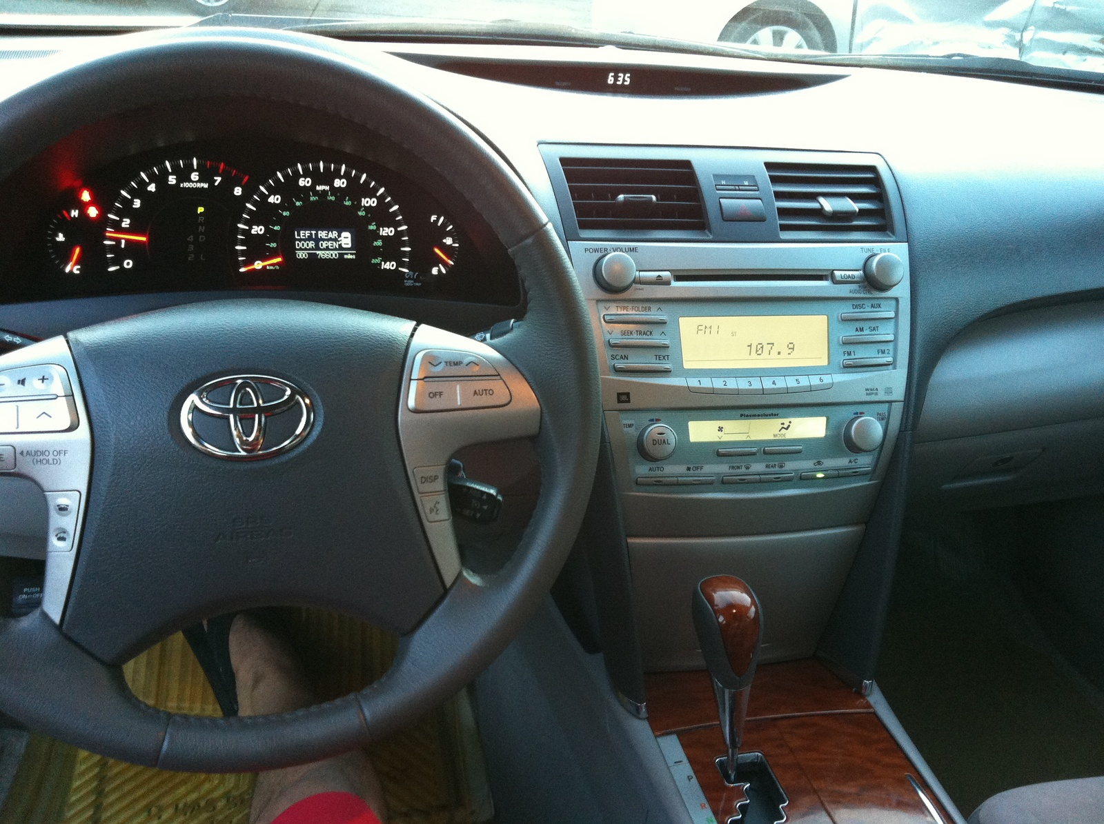 picture of 2008 toyota camry xle interior. Black Bedroom Furniture Sets. Home Design Ideas