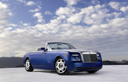 2012 Rolls-Royce Phantom Drophead Coupe Convertible picture copyright AOL Autos
