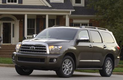 Picture of 2012 Toyota Sequoia Platinum 4WD, exterior, gallery_worthy