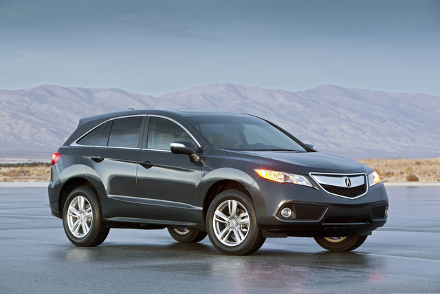 Front-quarter view. Copyright Acura