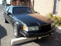 1990 Lincoln Mark VII LSC, Notice my grille and grille shell are blacked out as all the chrome trim on this car is blacked out. , exterior