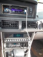 1990 Lincoln Mark VII LSC, The sound system has been upgraded to Kenwood MP3 and USB, hey I can charge my iPod while I listen to my tunes all 15,033 of them., interior