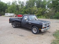 1986 Dodge RAM 150 Long Bed, serial # 1b7jd24t4hs370134, exterior