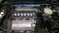 Picture of 1993 Alfa Romeo 164, engine
