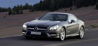 2013 Mercedes-Benz SL-Class, Front-quarter view. Copyright Mercedes-Benz, exterior, manufacturer, gallery_worthy