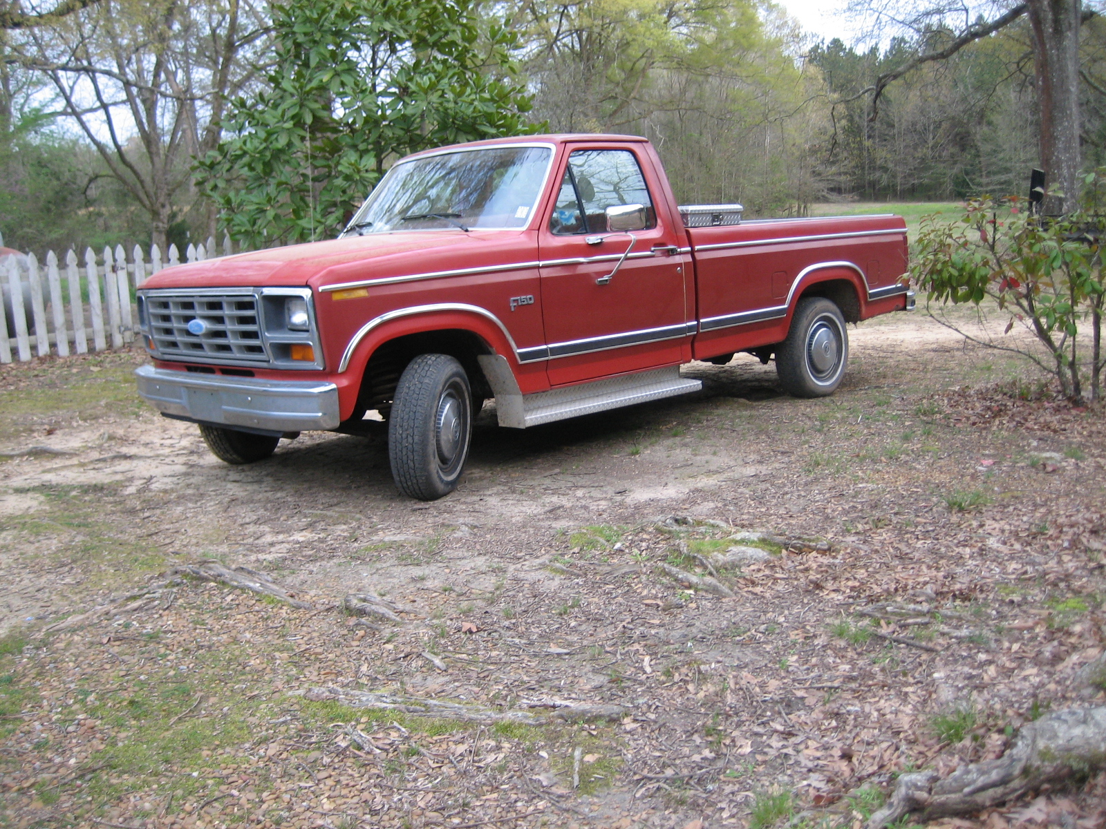 Ford F-150 Questions - I have a 1984 Ford F-150 red, great ...