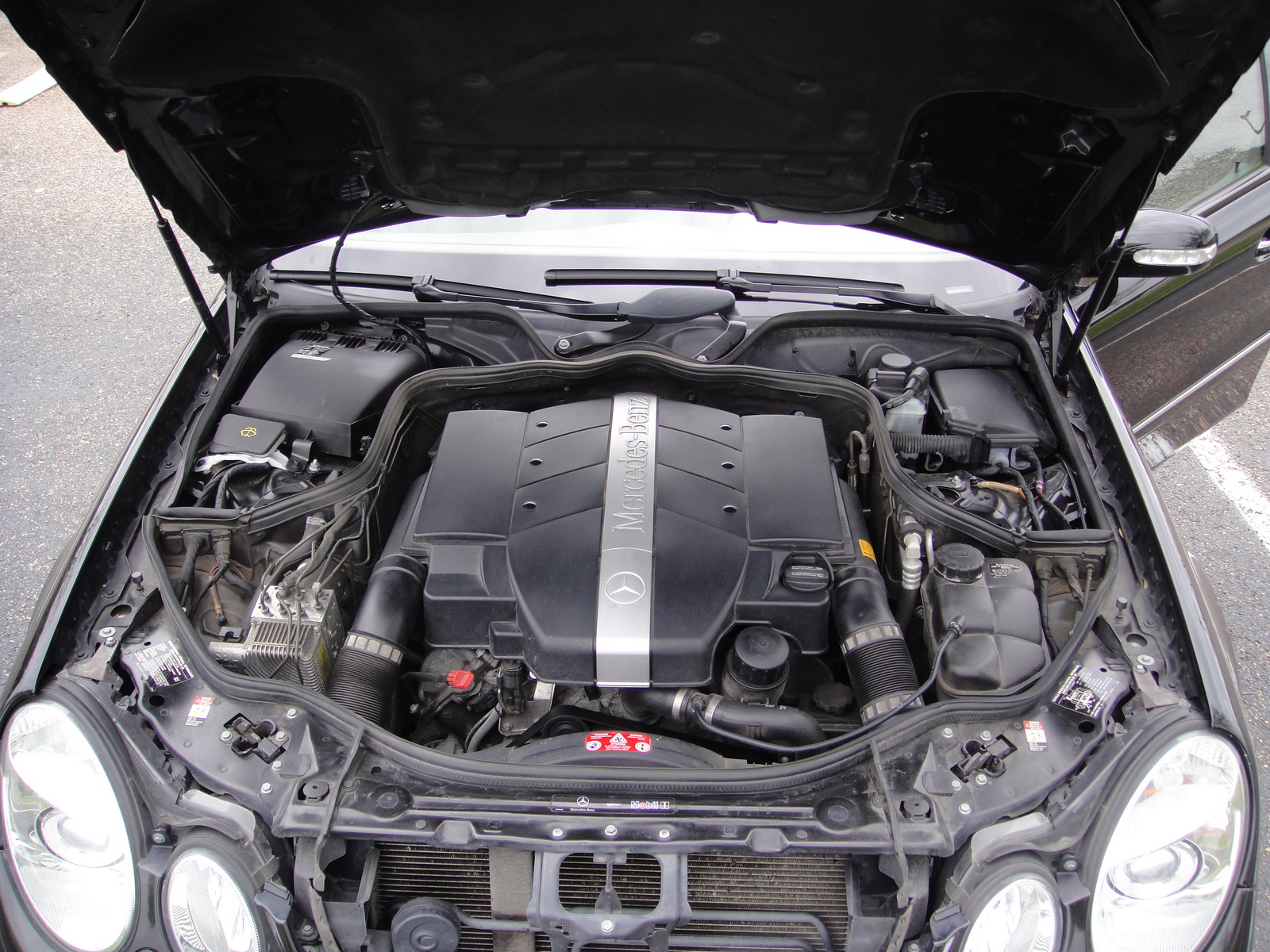 2004 mercedes e320 engine
