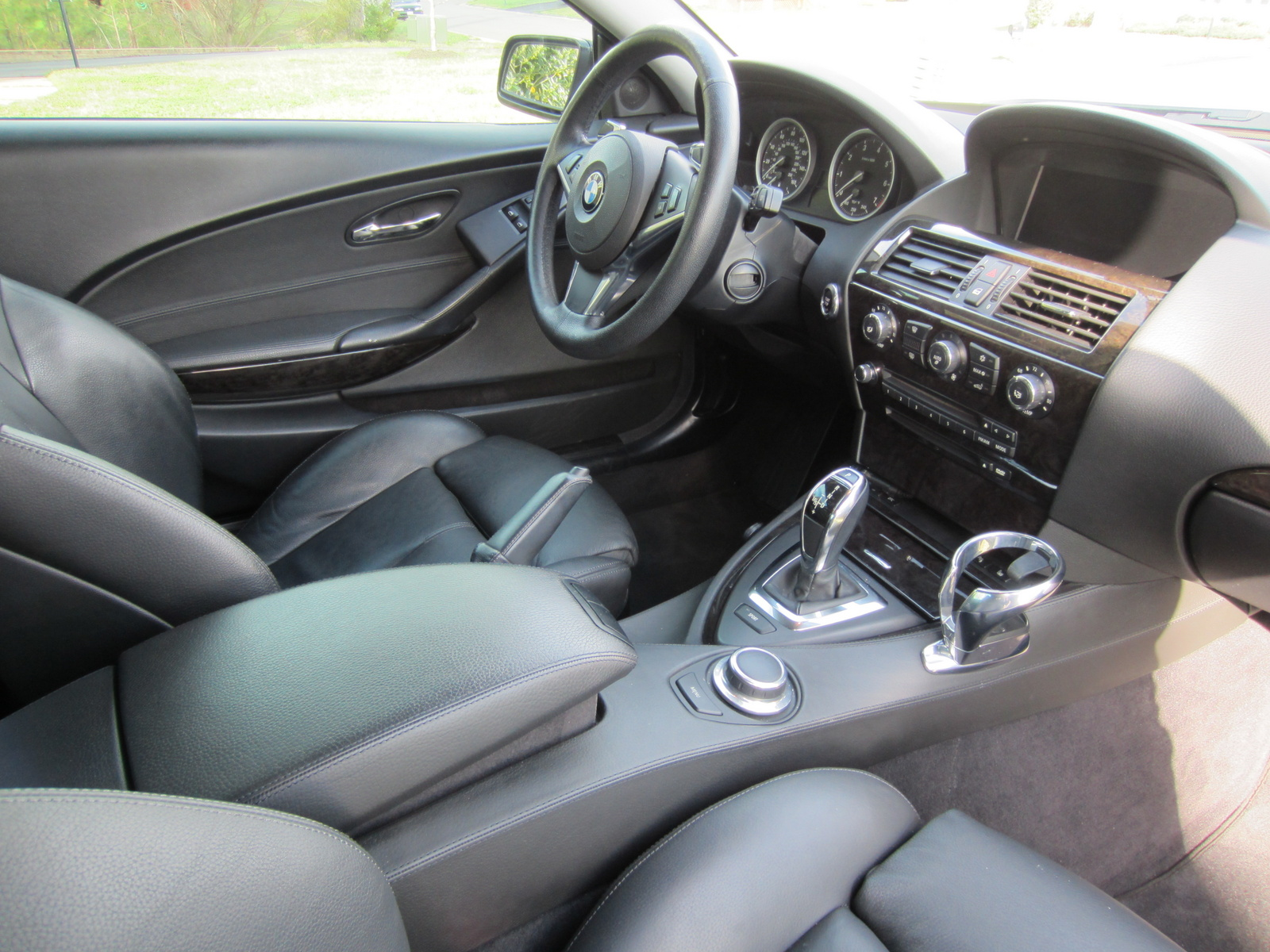 2008 Bmw 6 Series Interior Pictures Cargurus