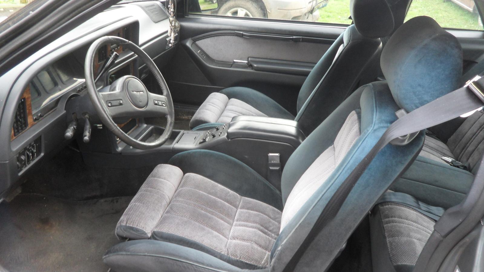 1987 Ford Thunderbird Interior 1987 Ford Thunderbird Turbo