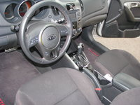 Picture of 2011 Kia Forte SX Hatchback, interior