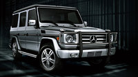 2012 Mercedes-Benz G-Class G 550, Front-quarter view. Copyright Mercedes-Benz, exterior, manufacturer