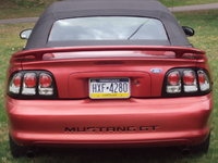 1997 Ford Mustang GT Convertible, Picture of 1997 Ford Mustang 2 Dr GT Convertible, exterior