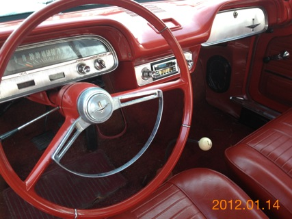 Picture of 1964 Chevrolet Corvair, interior