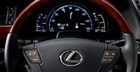 2012 Lexus LS 600h L, interior front drivers panel, manufacturer, interior