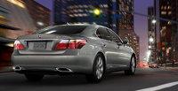 2012 Lexus LS 600h L, exterior rear quarter view, exterior, manufacturer