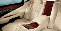 2012 Lexus LS 600h L, interior rear view, manufacturer, interior