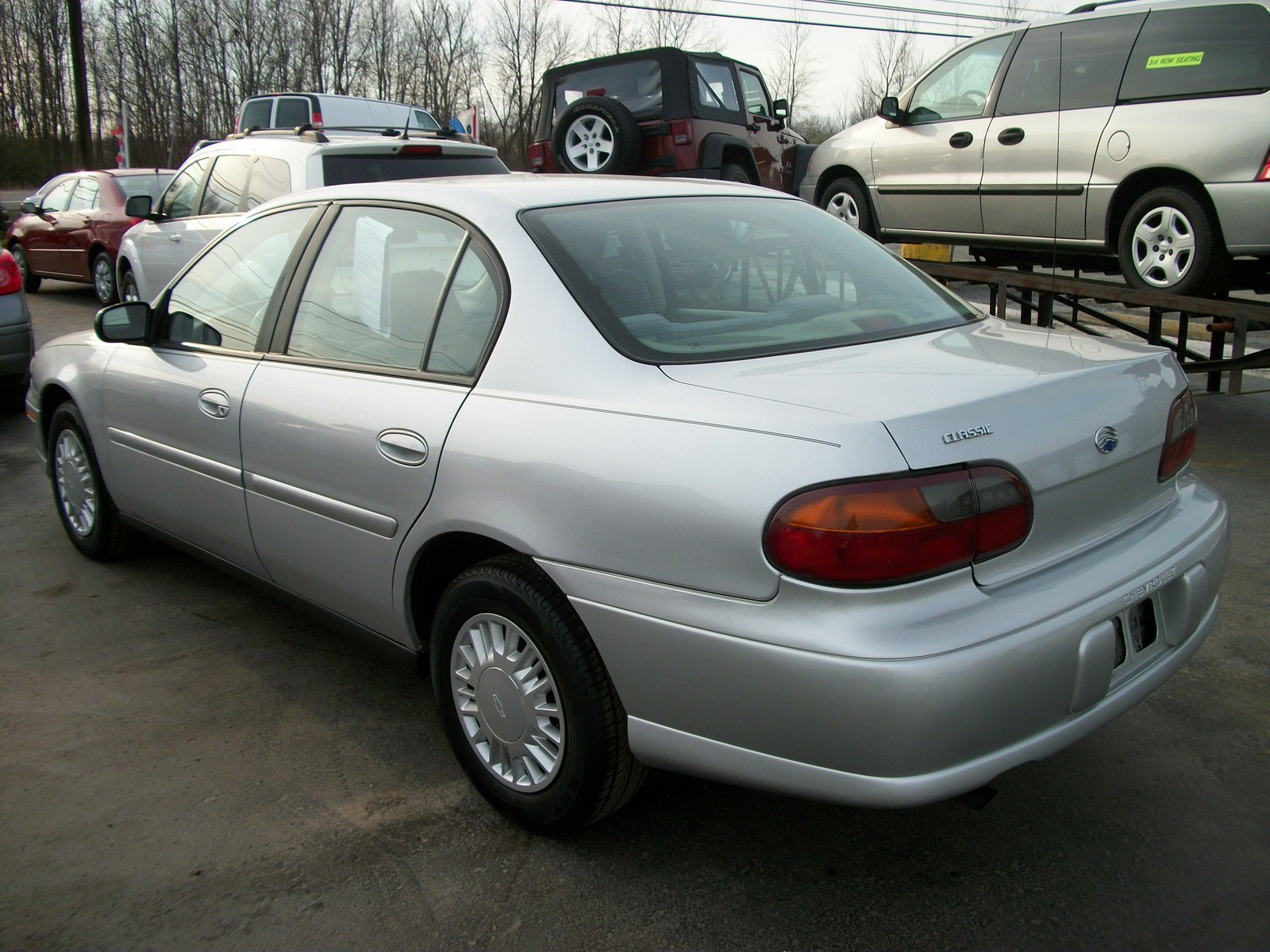 What are some new cars that were sold simultaneously with their ...
