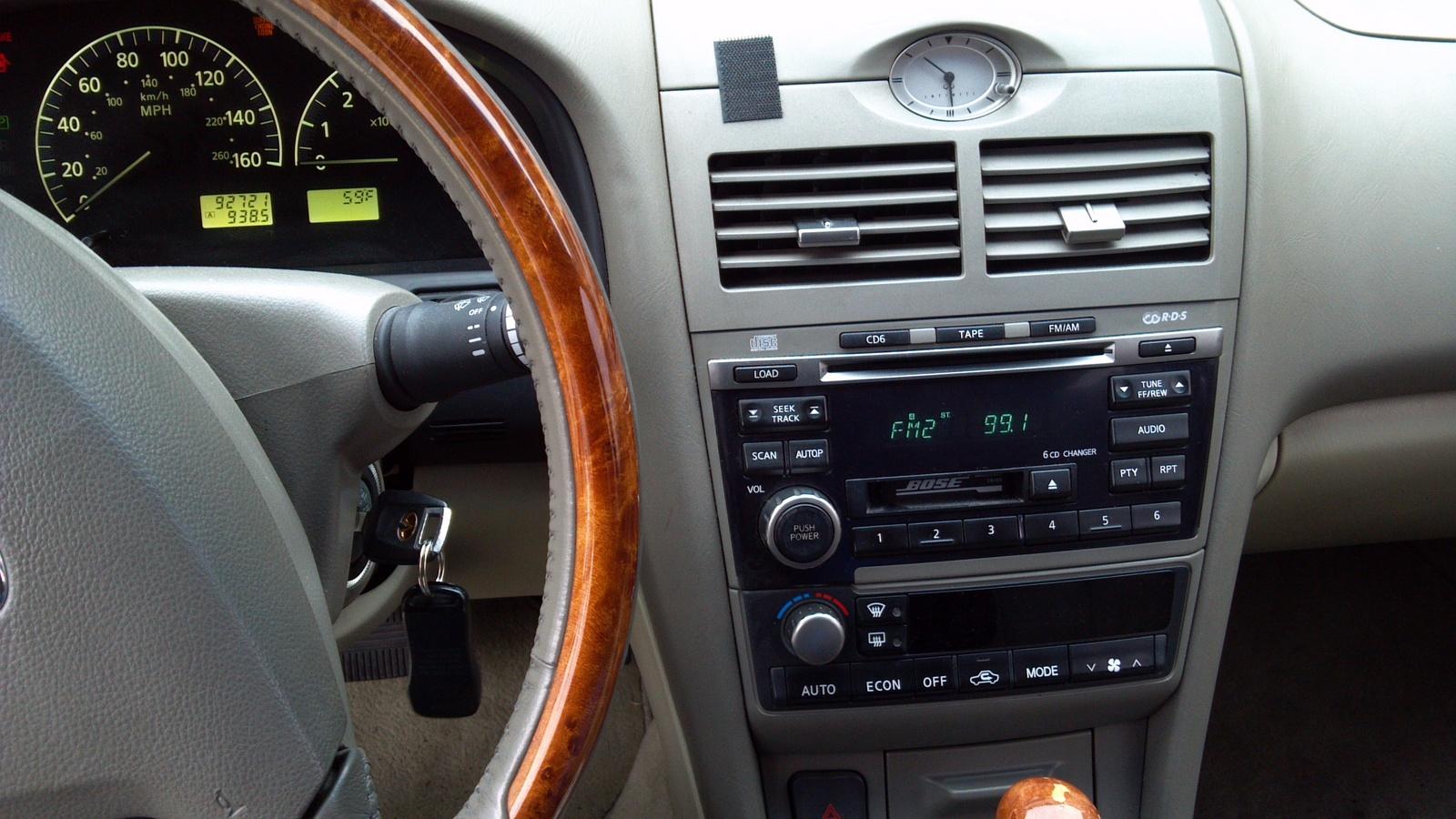 2002 Infiniti I35 Interior Pictures Cargurus