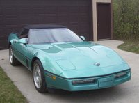 1990 Chevrolet Corvette Convertible, Picture of 1990 Chevrolet Corvette 2 Dr STD Convertible, exterior