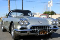 1960 Chevrolet Corvette Convertible Roadster, Read about this car here:  http://www.examiner.com/classic-car-in-oakland/1960-corvette-comes-back-to-life-after-45-years-of-ownership, exterior, gallery_...