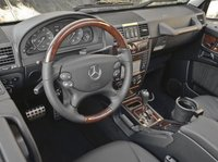 2012 Mercedes-Benz G-Class, Close-up of steering wheel copyroght AOL Autos. , interior, manufacturer