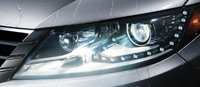 2013 Volkswagen CC, Close-up of headlight. , exterior, manufacturer