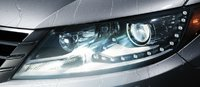 2013 Volkswagen CC, Close-up of headlight. , manufacturer, exterior