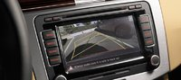 2013 Volkswagen CC, Close-up of navigation screen., interior, manufacturer