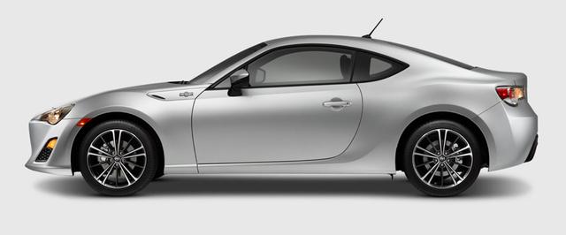 2013 Scion FR-S, Side View., exterior, manufacturer