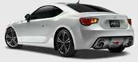 2013 Scion FR-S, Back quarter view. , exterior, manufacturer