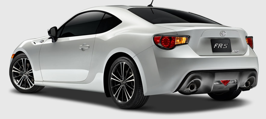 2013 Scion FR-S, Back quarter view. , manufacturer, exterior