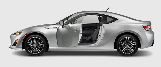 2013 Scion FR-S, Side door with side door open. , exterior, manufacturer