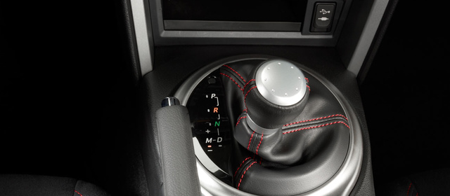 2013 Scion FR-S, Close-up of shift stick. , interior, manufacturer, gallery_worthy