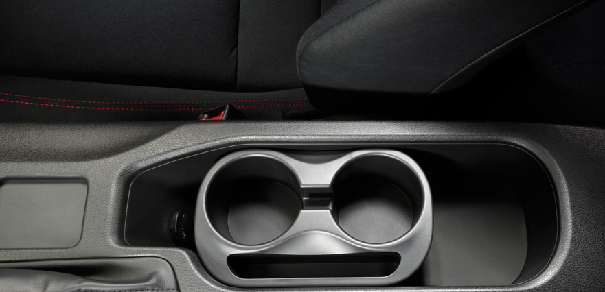 2013 Scion FR-S, Close-up of cup holder. , manufacturer, interior