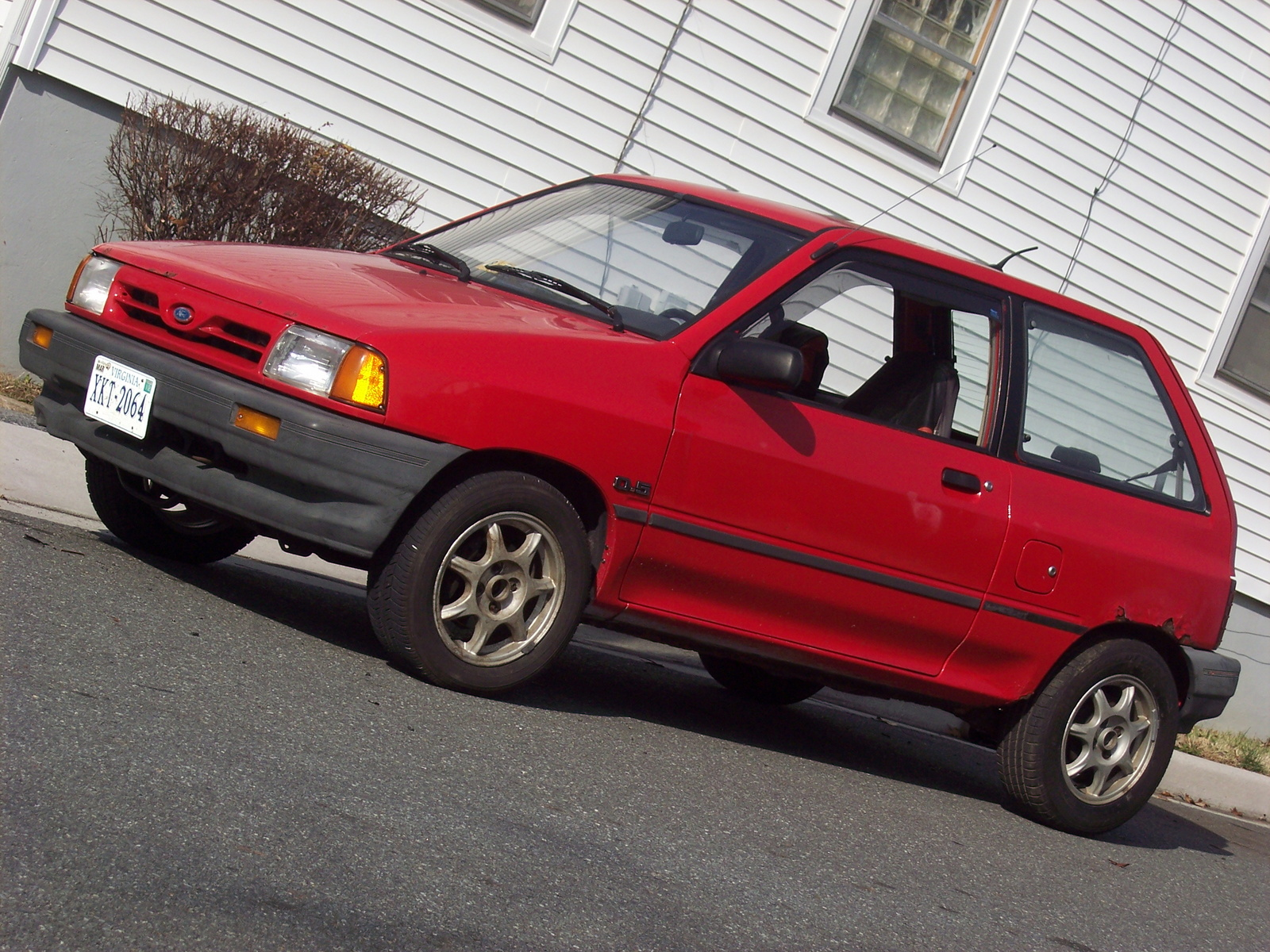 Picture of 1991 Ford Festiva L, exterior