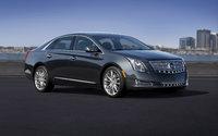 2013 Cadillac XTS, Front-quarter view. Copyright General Motors, exterior, manufacturer