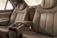 2012 Maybach 57, interior rear view, interior, manufacturer