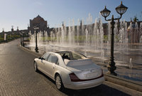 2012 Maybach 62 Landaulet, exterior left rear quarter view, exterior, manufacturer