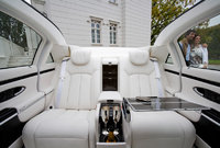 2012 Maybach 62 Landaulet, interior rear view, interior, manufacturer