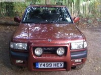 2002 Vauxhall Frontera Overview