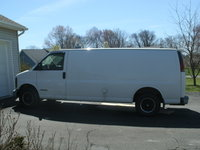 1999 Chevrolet Express Cargo 3 Dr G3500 Cargo Van Extended, 1998 3500 side view Diesel, exterior, gallery_worthy