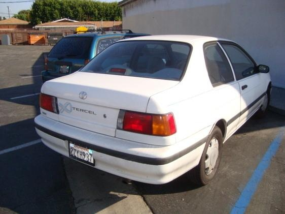 Picture of 1992 Toyota Tercel 2 Dr DX Coupe