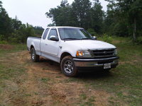 1998 Ford F-150 XLT Extended Cab SB, This is my baby. 4.6 liter V8 single in dual out straight pipes, after-market stero., exterior
