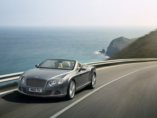 2012 Bentley Continental GTC, exterior front left quarter view, exterior, manufacturer